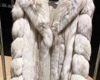 Fox fur coat Beautiful!
