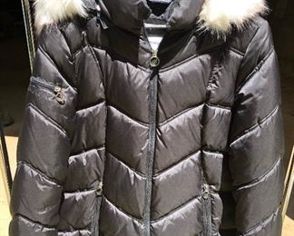 Nautica down coat with hood