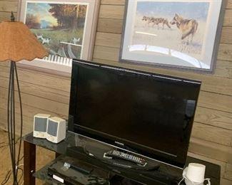 Samsung tv, stand