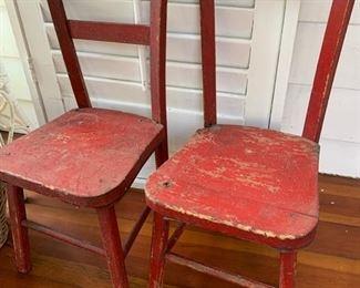 Children's Wood Chairs