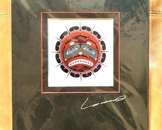 """$35 Yukie  Adams signed  """"Sun""""  (Alaska).  12"""" H x 10"""" W."""