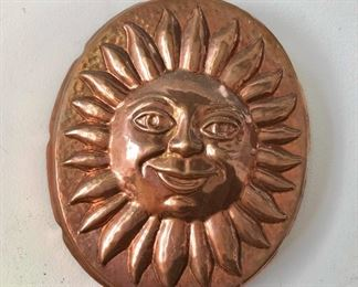 """$40 Copper hanging mould - 8"""" H x 6"""" W."""