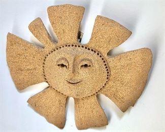 $40 - Sand sun sculpture