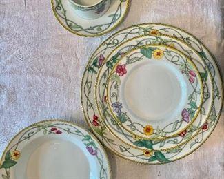 "Dansk ""Tivoli Gardens"" dinnerware."