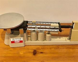 $40 OHaus triple beam balance scale
