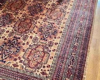 "$695 - Vintage Pakistan rug -  117"" L x 73"" W."
