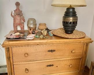 """$450  Pine chest of drawers SOLD . 37"""" H, 48"""" W, 23.5"""" D."""