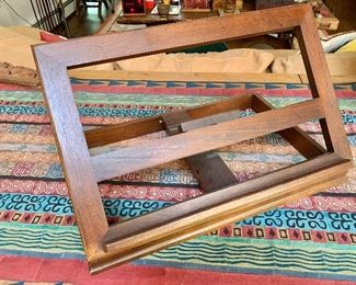 """$75 - Book stand - 20"""" W x 13"""" D, standing height 13"""""""