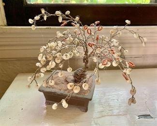 """$50 - Metal bonsai.  7"""" H, 6.5"""" W."""