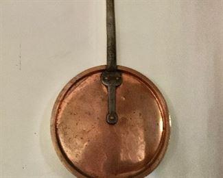 "$60 - Copper lid - 24"" H, pot 13"" diam."