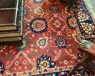 "$895 Vintage Turkish Safir rug 132"" L x 85.75"" W."