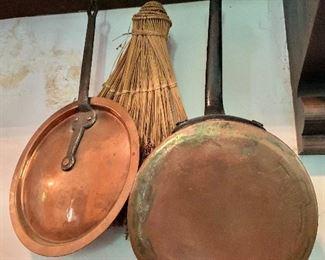 $60 - Copper top #2, $75 copper pan #7