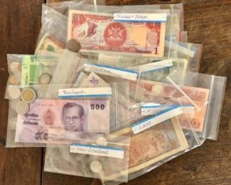 $75  Lot foreign currency