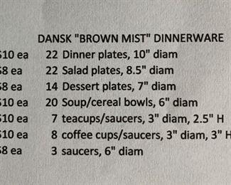 Dansk brown mist