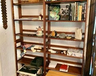 """Folding shelves (#1 and #2)! Each $120:  each 74"""" H, 28"""" W, 11.75"""" D. SOLD"""