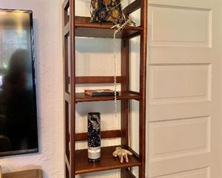 """And another folding shelf (#11).  $90: 74"""" H, 14"""" W, 11.75"""" D.   SOLD"""