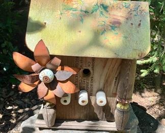 $40 Very funky bird house