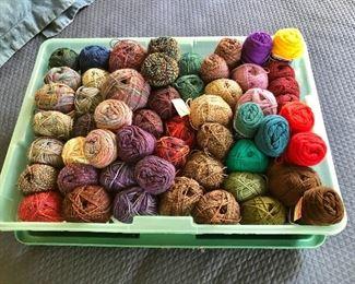 $95 - Large box of yarn
