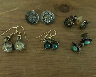 """$15 Ea various types of earrings  Ranges from 0.6""""L to 1.5""""L"""