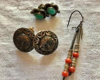 $15 each detail  Left earrings SOLD