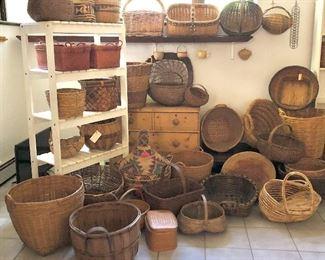 Room of baskets