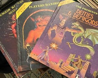 Vintage Dungeons and Dragons
