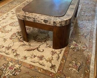Coffee Table Marble/Wood