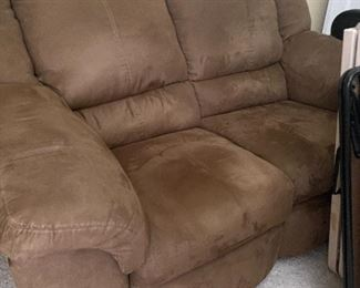 Love seat both sides recline