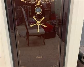 Lincoln Gun Liberty Safe.  Original cost $4500.00.  Paperwork included.