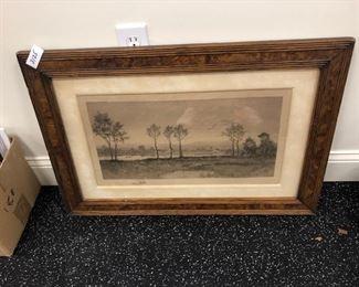 vintage framed