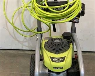 10 Image(s) Located in: Chattanooga, TN MFG Ryobi Model RY80942 Ser# KC20431D060009 Gas Pressure Washer 3300 PSI MFR Date - 2020 *Unable to Test, Motor is Free* *Sold As Is Where Is*  SKU: T-WALL See Notes