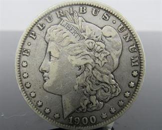 Yr: 1900 - O Denomination Morgan Dollar Located in: Chattanooga, TN O Mint