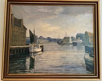 Oil painting Einar Gross