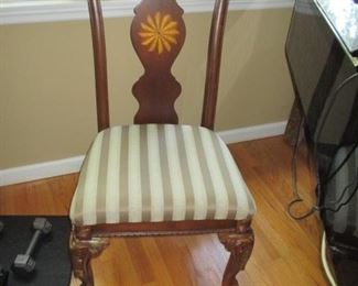 Inlaid Accent Chairs