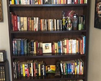 Books for sale! Bookcase not included.