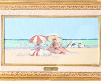 Frederick McDuff (1931-2011) Oil on Canvas