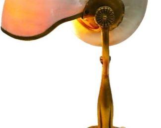 Rare Tiffany Nautilus Lamp