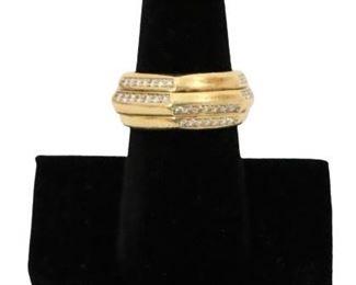 Piaget 18k Gold and Diamond Ring