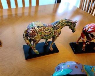 trail of painted ponies caballo brillante  #1456