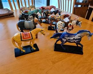 Trail of Painted Ponies!  With Boxes & Cards