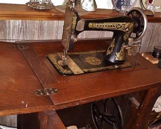 Antique Franklin sewing machine