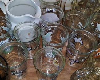 Loony Tunes jelly jars