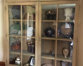 Stunning Restoration Hardware cabinet offered at a fraction of the original cost