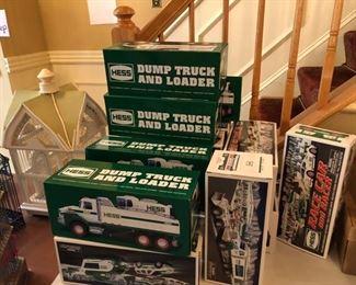 lots of Hess Trucks