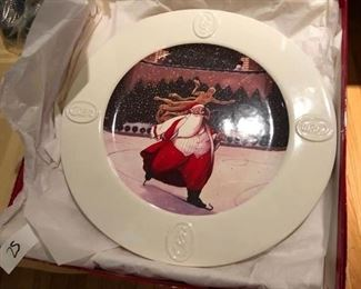 Santa at Rockefeller Center