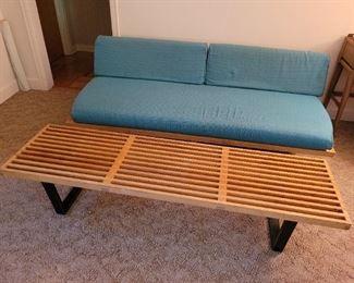 $1200.00, George Nelson Herman Miller slat bench