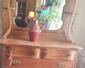 Great antique display hutch