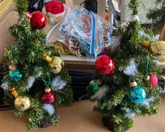 A selection of Christmas decor