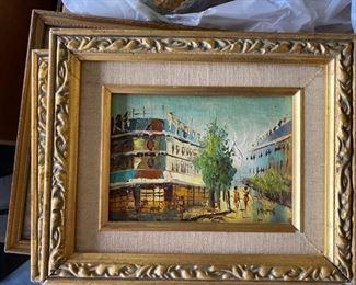 Small framed art