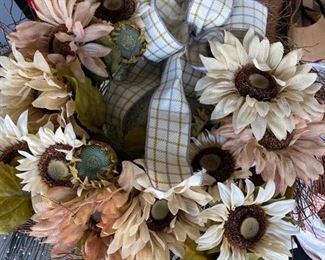 Several floral bunches